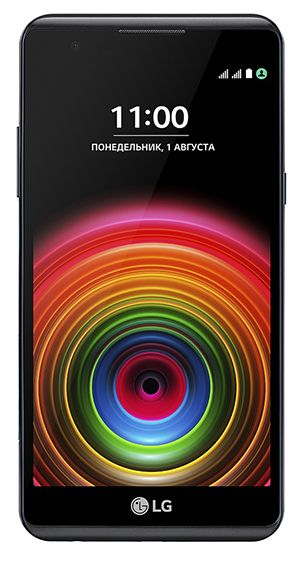 Смартфон LG X Power (LGK220DS.AKAZBK) Black