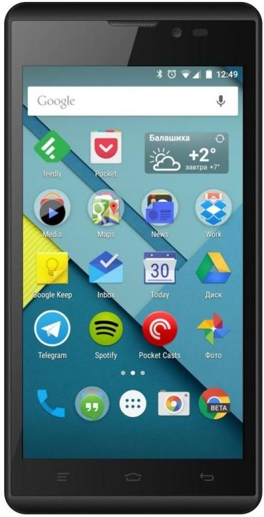 Смартфон MICROMAX BOLT D340 Black