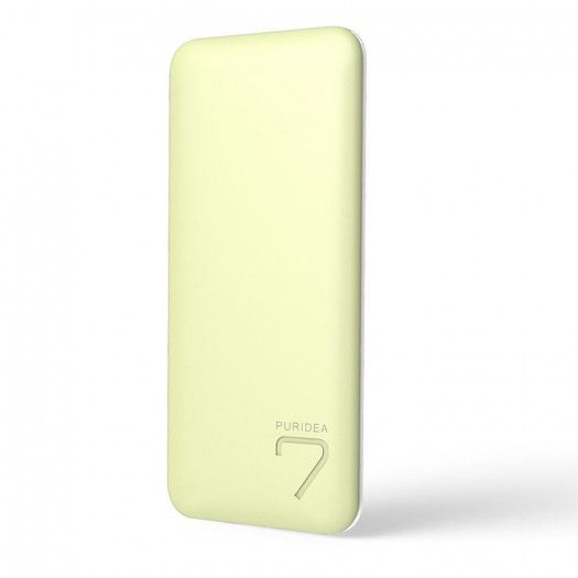 картинка Power Bank PURIDEA S5 (Couple Series) 7000mAh (yellow/White)(1242700) от магазина 1.kz