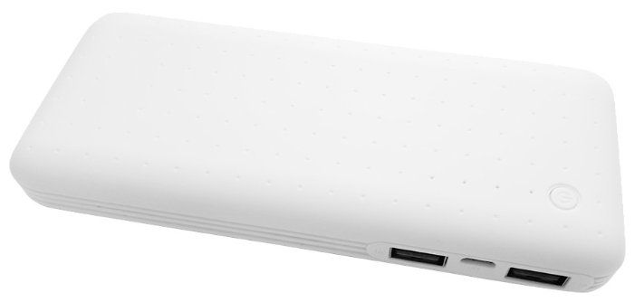 картинка Power Bank CONTINENT 13000mAh PWB130WT White (569227) от магазина 1.kz